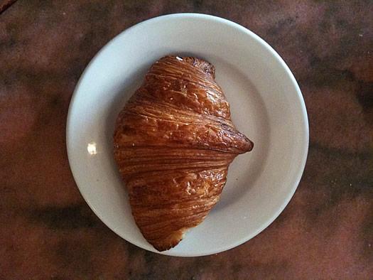 Mrs Londons croissant overhead