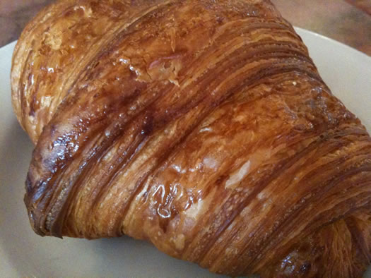 Mrs Londons croissants closeup