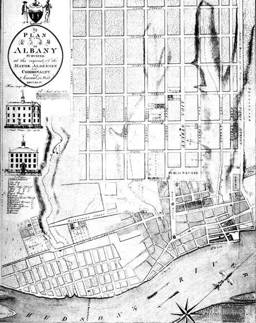 Myrtle walk old map Dewitt