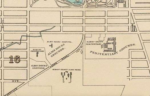 Myrtle walk old map alms house