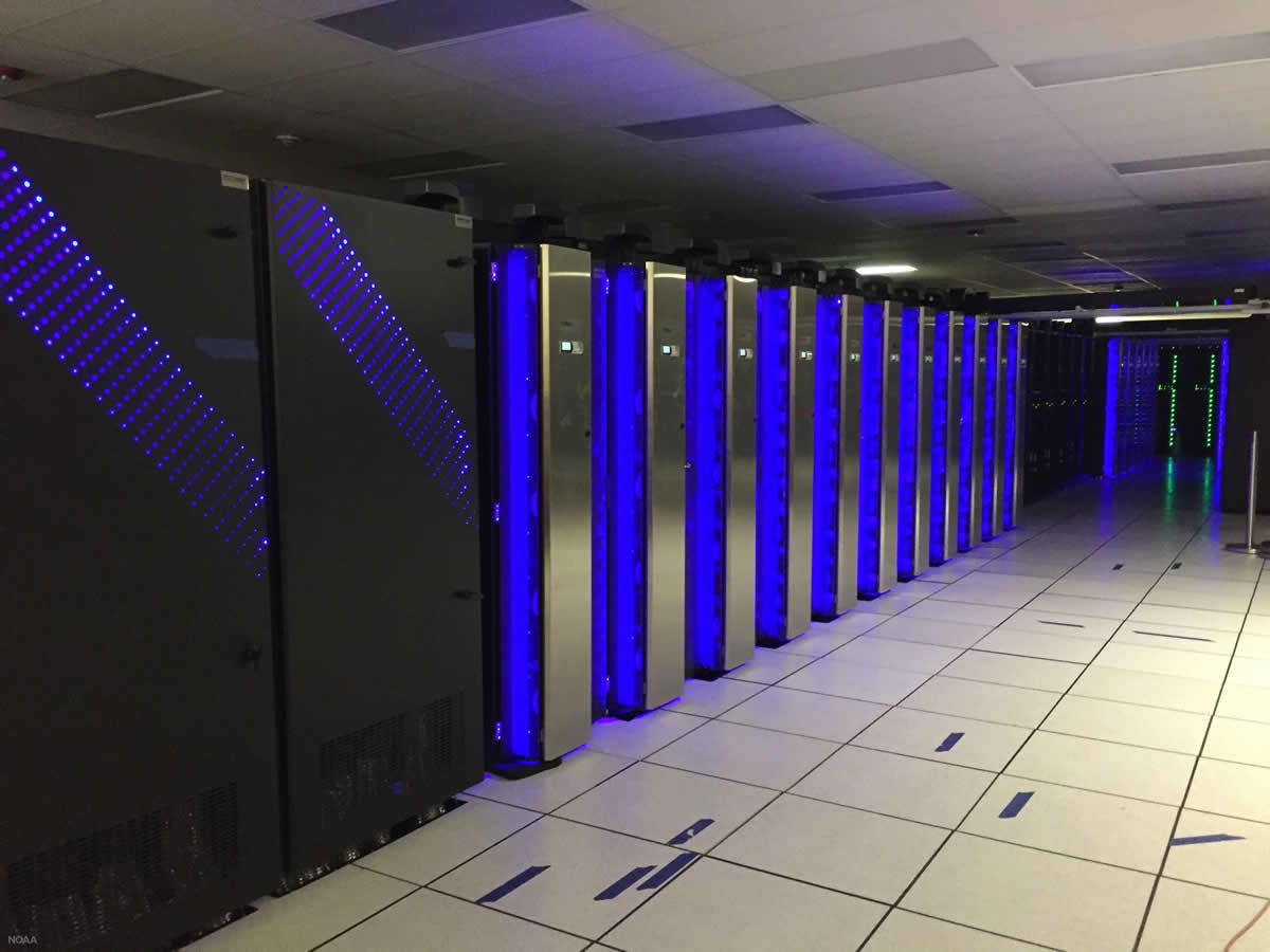 NOAA supercomputing center Florida 2018