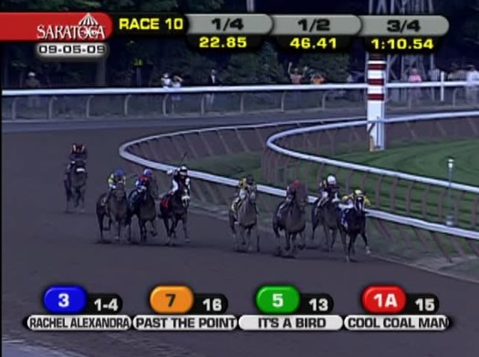 NYRA screengrab 2009 Woodward Stakes