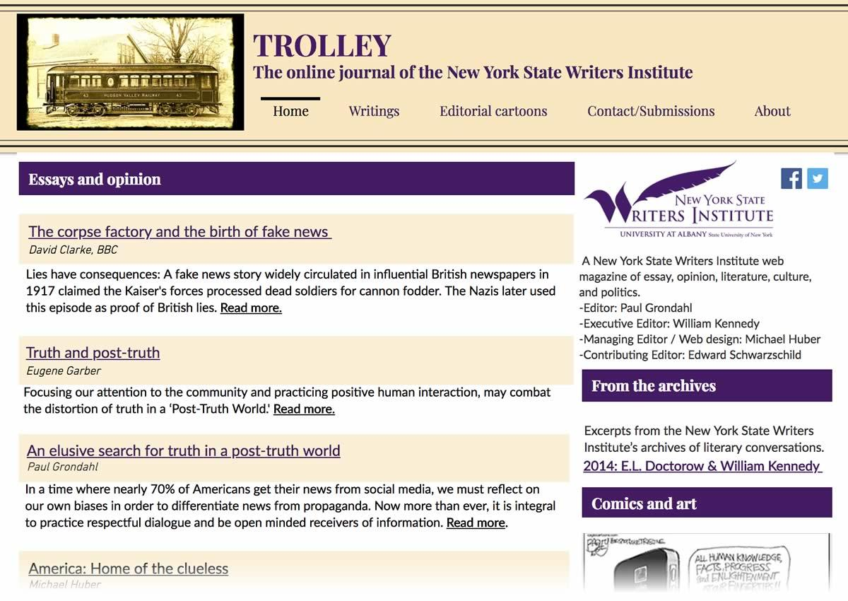 NYSWI Trolley screenshot