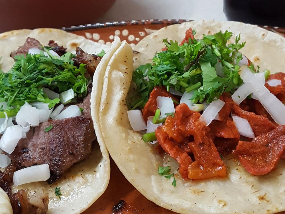Oaxaquena Triqui tacos closeup
