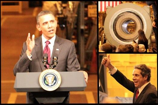 Obama Visit Schenectady Composite