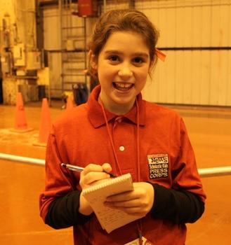 Obama Ellie Sommers 10 year old