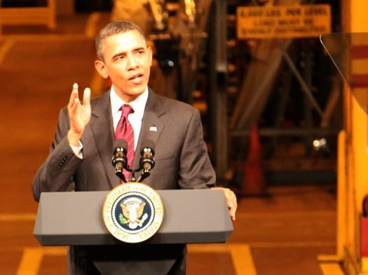 Obama at GE Close Up