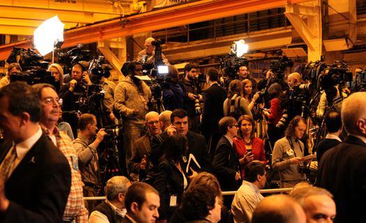 Obama Press Shot