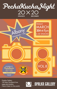 PeckaKucha Albany 2015-03-20 poster