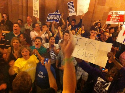 Post marriage equality vote-- outside chamber.jpg