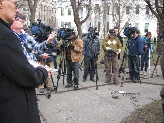 Press at Occupy Albany  Demand conference.jpg