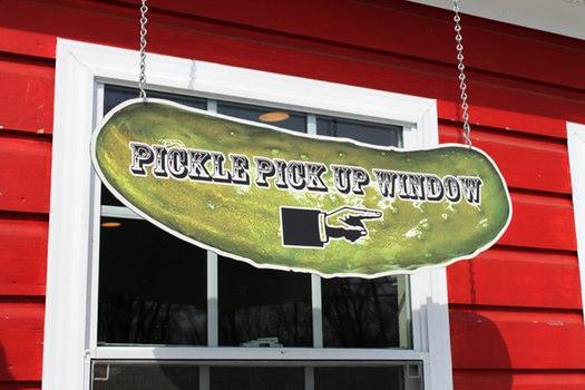 Puckers Pickle Window