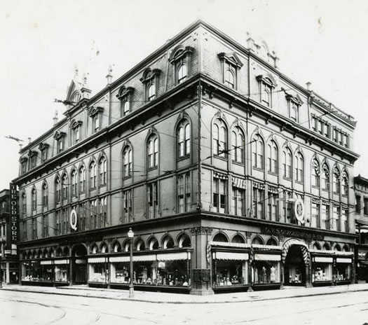 Quackenbush building Troy as Quackenbush and Co undated