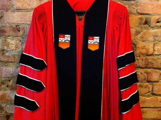 RPI academic robe