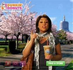 Rachael Ray Dunkin Donuts ad