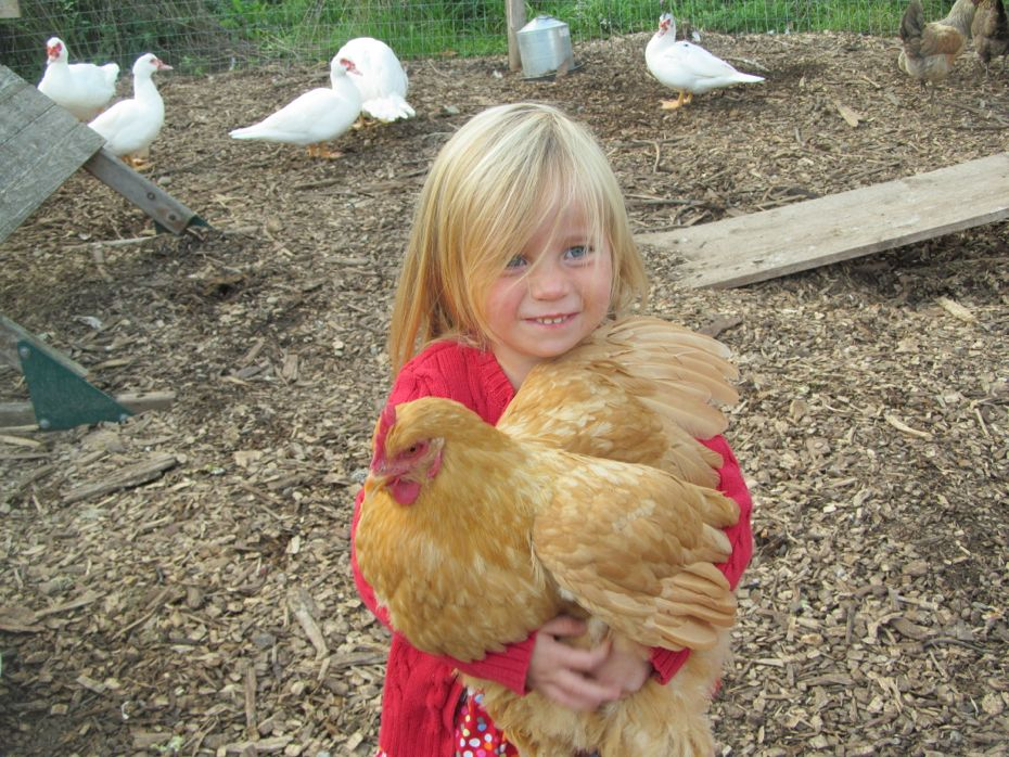 Radix 2012 Girl with chicken 1.jpg