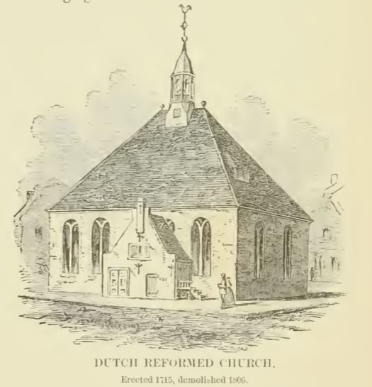 Random Recollections of Albany old Dutch church