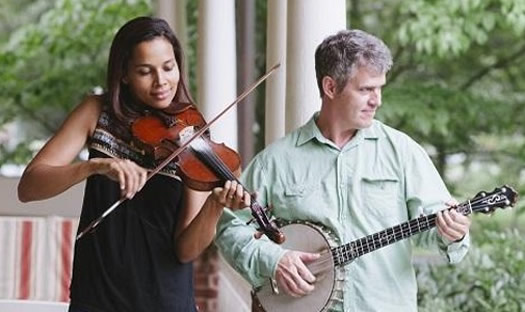 musicians Rhiannon Giddens Dirk Powell