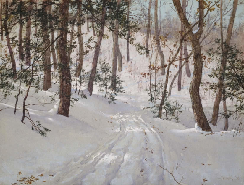 Road To Olana by Walter Launt Palmer AIHA