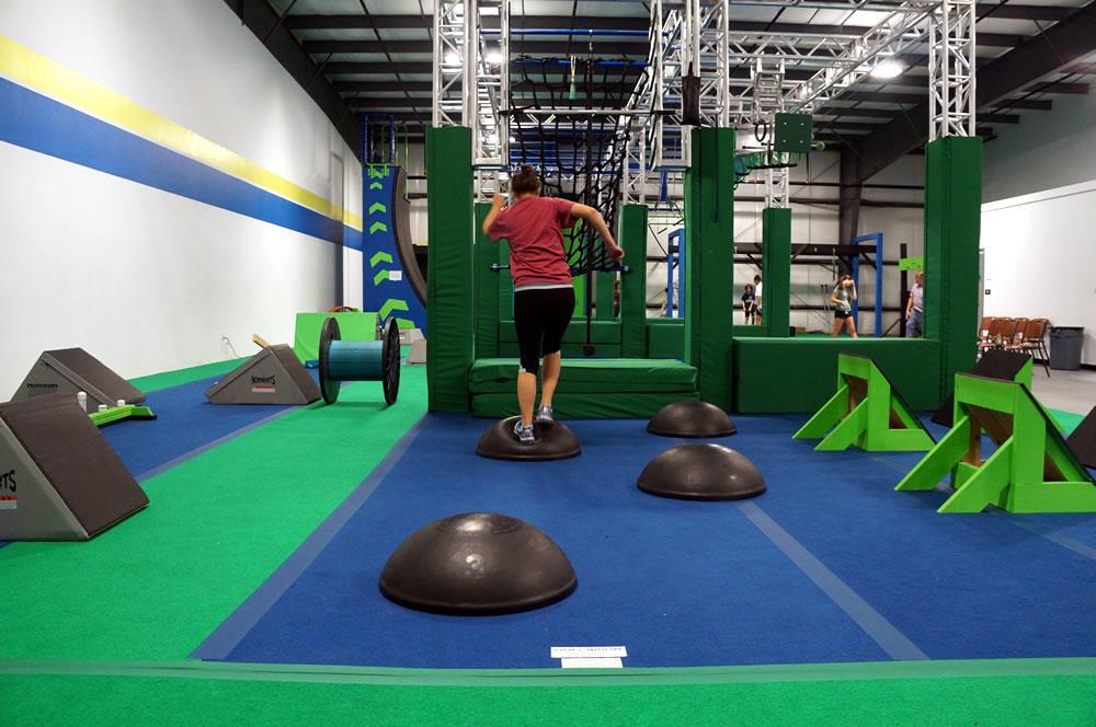 Saratoga Ninja Lab jumping from spot to spot