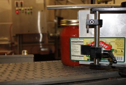 Casa Visco Sauce Label