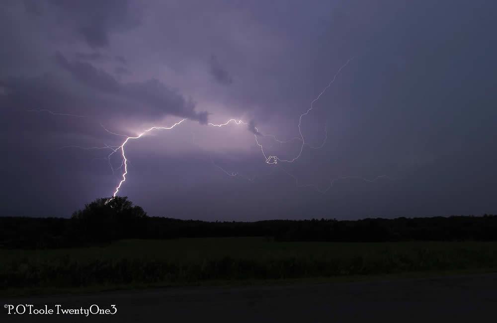 Schuylerville lightning