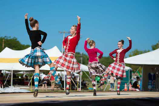 Capital District Scottish Games dancers