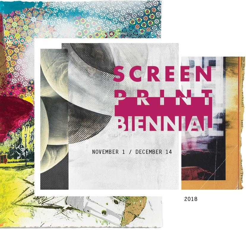 Screenprint Biennial 2018 poster