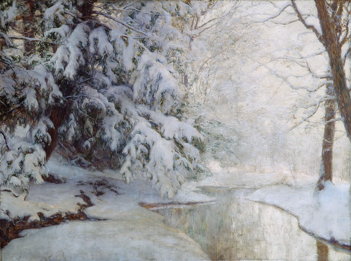 Silent Dawn by Walter Launt Palmer The Met
