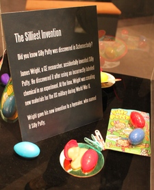 Silly Putty Exhibit