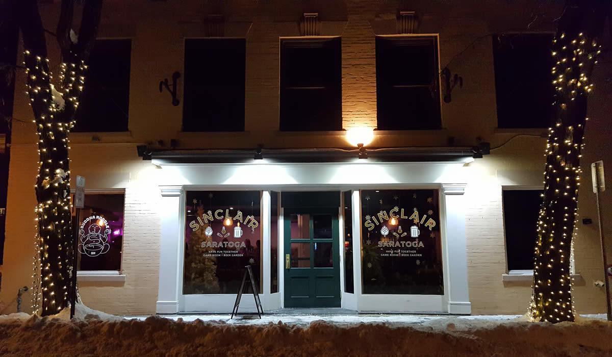 Sinclair Saratoga exterior 2017-December