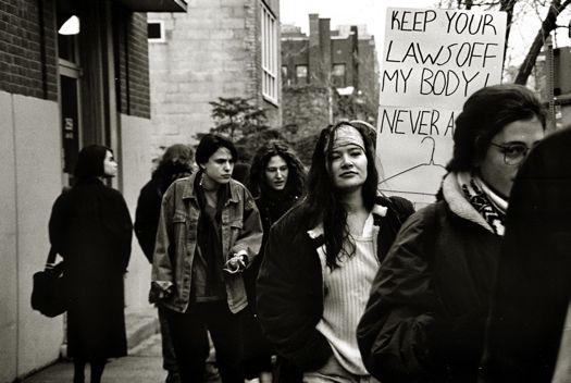 Siobhan Connally 1992 protest.jpg