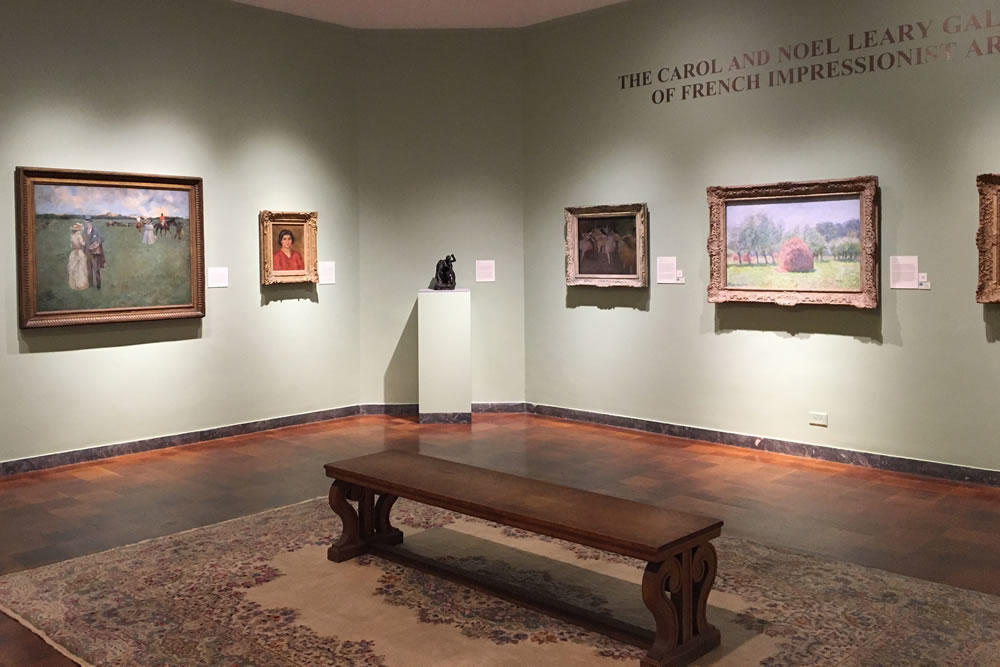 Springfield Museums D'Amour Museum of Fine Arts impressionists