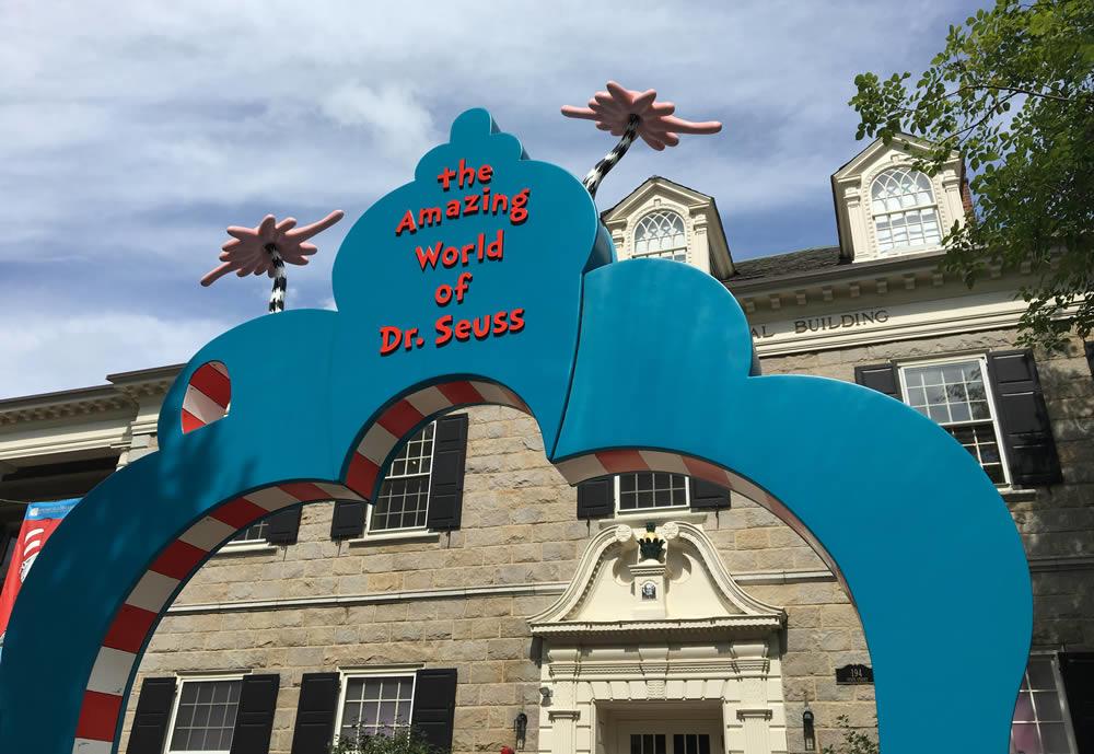 Springfield Museums Seuss exterior