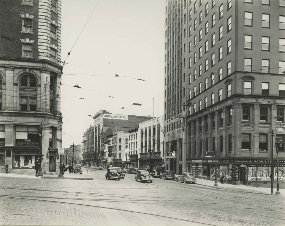 State and Pearl Albany 1947
