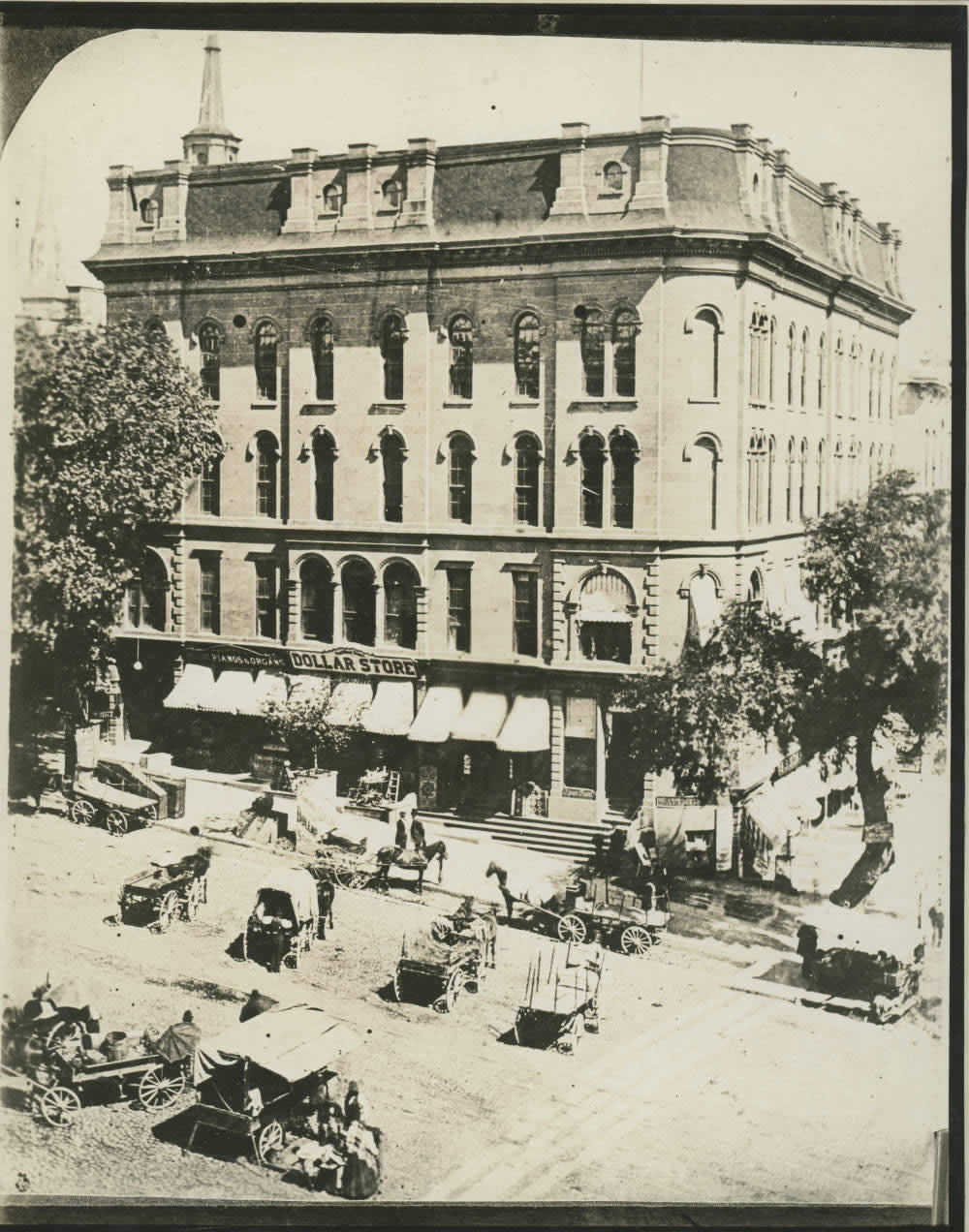 State and Pearl in downtown Albany Tweddle Hall 1800s