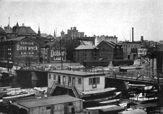 Albany waterfront 1914