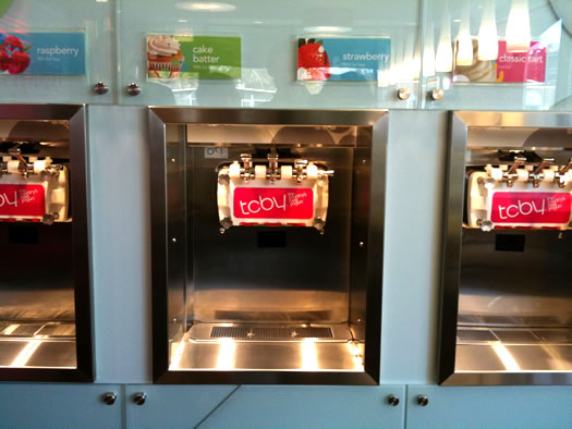 Checking Out The New Tcby All Over Albany