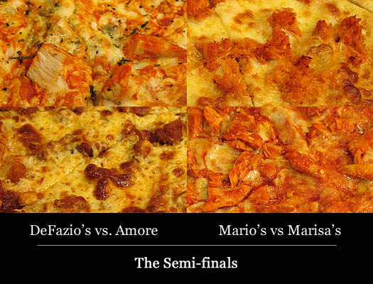 Tournament of Pizza 2012 semi-finals