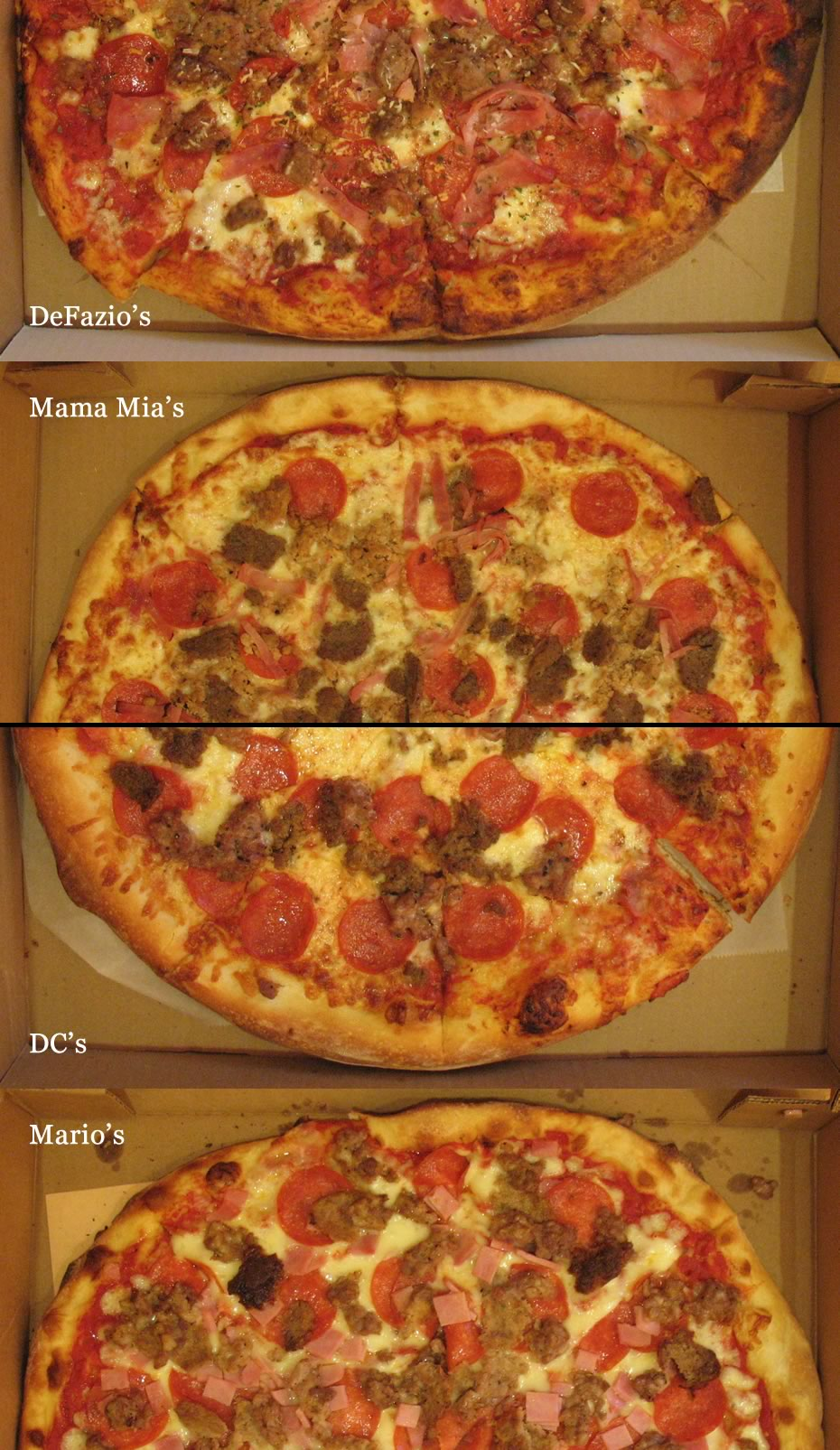 TOP2013 semifinals pizza closeups