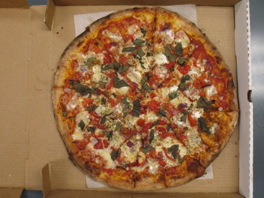 DeFazio's veggie pizza TOP final 2014