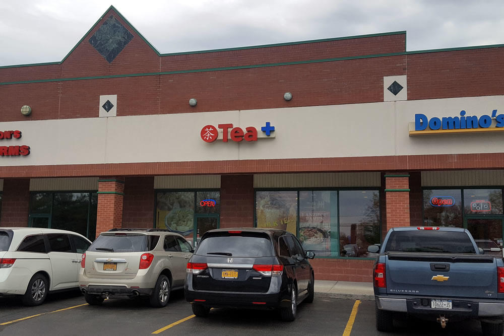 Tea Plus Clifton Park exterior 2018-May