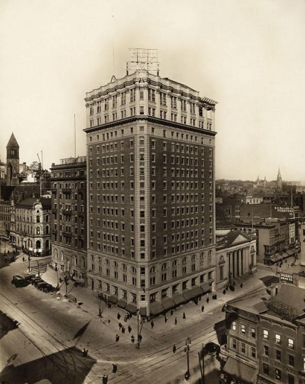 Ten Eyck Hotel Albany 1916