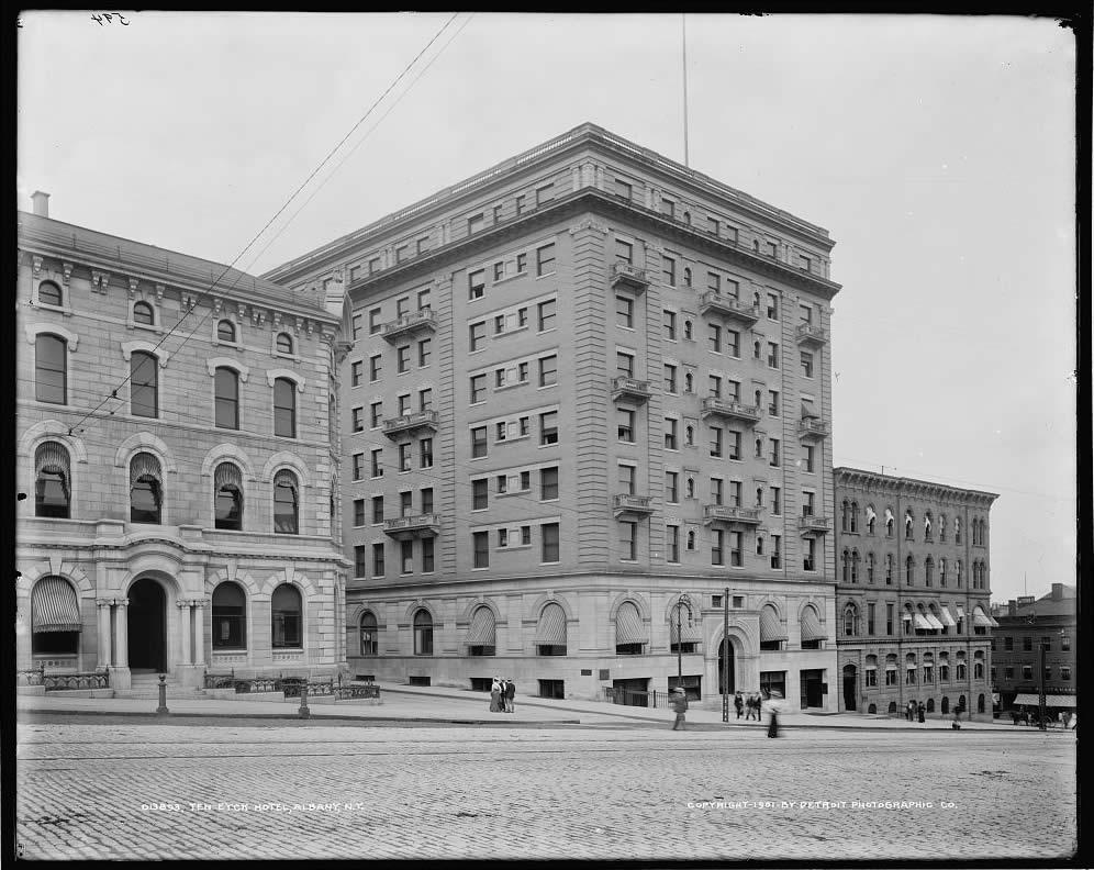Ten Eyck Hotel Tweddle Building Albany 1901