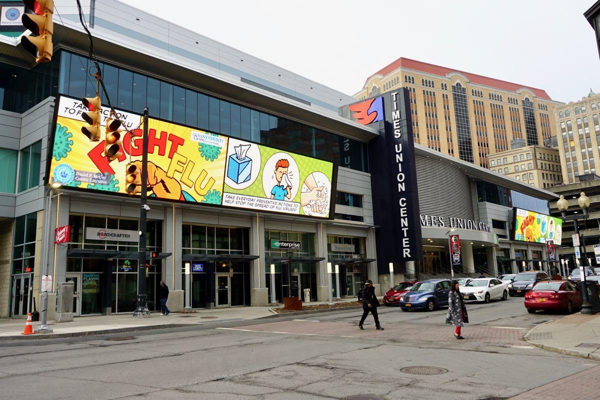 Times Union Center exterior 2018-03-01