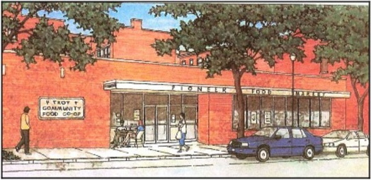 Troy Food Co-op sketch