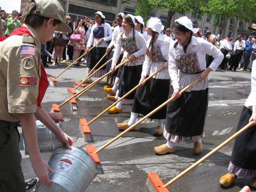 Tulip Festival Street Sweeping
