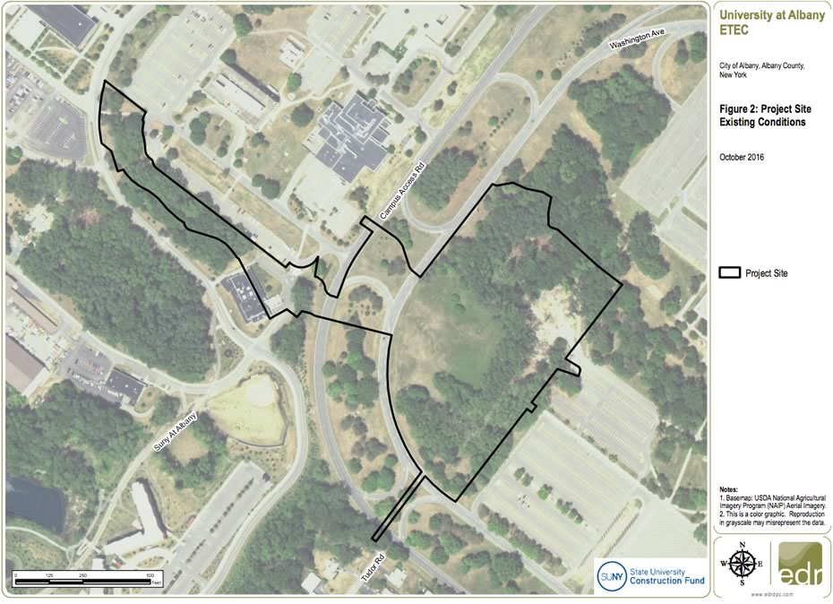 UAlbany ETEC site map 2016-December