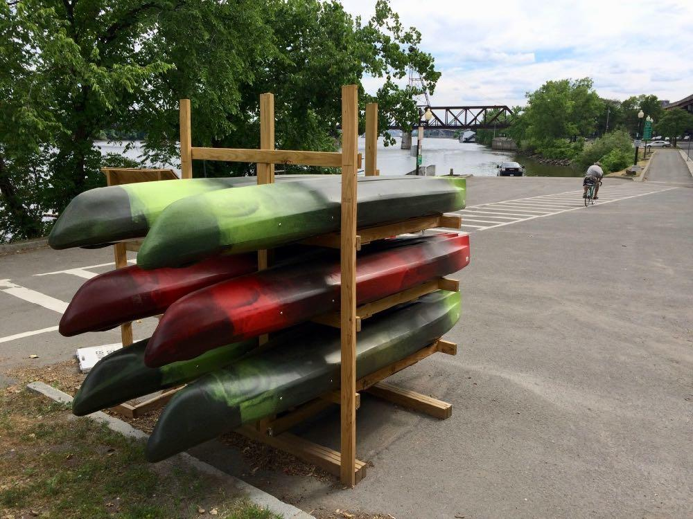 Upstate Kayak Rentals Corning Riverfront Park 2018-June