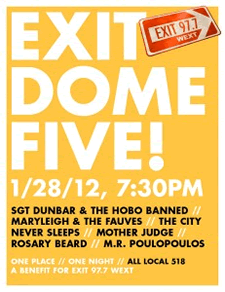 WEXT exit dome 5 poster